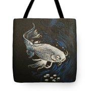 Mystic Koi Tote Bag
