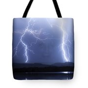 Mystic Lightning Storm Tote Bag