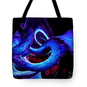 Mystic Love Abstract Tote Bag
