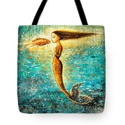 Mystic Mermaid Iv Tote Bag