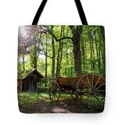 Mystic Mountain Tote Bag