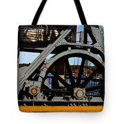Mystic Seaport Draw Bridge Tote Bag