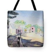 Mystic Seaport Tote Bag