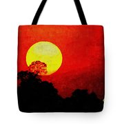 Mystic Sunset H A Tote Bag