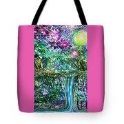 Mystic Waterfall Tote Bag