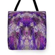 Mystic Waterfall - Purple Hues Tote Bag