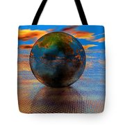 Mystical Blue Tote Bag