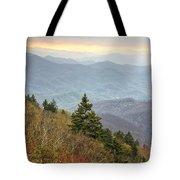 Blue Ridge Mountain 3 Tote Bag