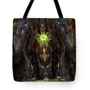Mystical Flower Tote Bag