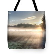 Mystical Fogs Of Florida Tote Bag