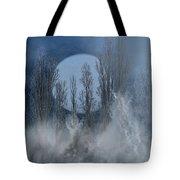 Mystical Moon Tote Bag