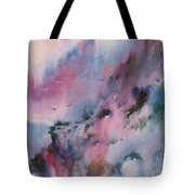 Mystical Mountains Tote Bag