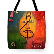 Mystical Notes Tote Bag