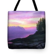 Mystical Sunset Tote Bag by Sharon E Allen