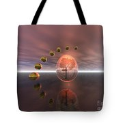 Mystical Surrealism Tote Bag