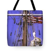 Mystic's Masts Tote Bag