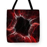Mystry Through The Black Hole Tote Bag