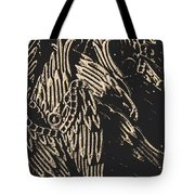 Mythical Angels From History Past Tote Bag
