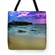 Mythical Ocean Sunset  Tote Bag