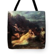Mythology: Helen Of Troy Tote Bag
