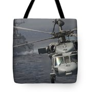 N Mh-60s Knight Hawk Delivers Supplies Tote Bag