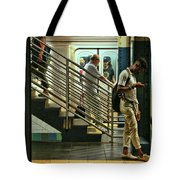 N Y C Subway Scene # 9 Tote Bag