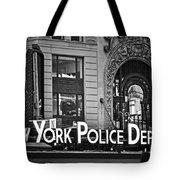 N Y P D Tote Bag