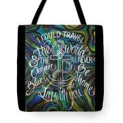 N/z Abalone /lettering Tote Bag