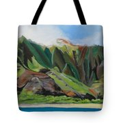 Na Pali Cruise Tote Bag