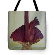 Voodoo Lily 1a Tote Bag