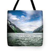 Naeroyfjord Tote Bag by KG Thienemann