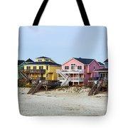 Nags Head Beach Houses Tote Bag
