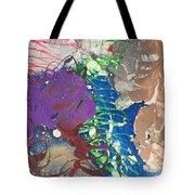 Nail Polish Abstract 15-t11 Tote Bag