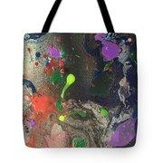 Nail Polish Abstract 15-w11 Tote Bag