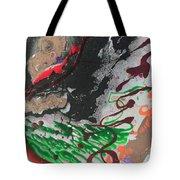 Nail Polish Abstract 15-z11 Tote Bag