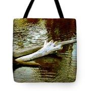 Nailbiting Driftwood Tote Bag