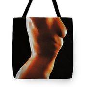 Naked Light And Dark Tote Bag