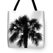 Naked Palm Tote Bag