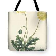 Naked Stalked Poppy Tote Bag