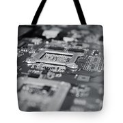 Naked Technology Tote Bag