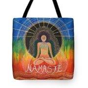 Namaste' Tote Bag