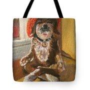 Namaste Dog Tote Bag