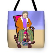 Nana Knitting Tote Bag