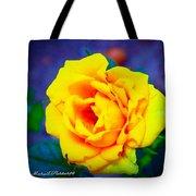 Nana's Yellow Rose Tote Bag