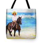 Nancy And Stormy Tote Bag