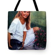 Nancy And Tiffany Tote Bag