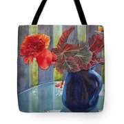 Nancy's Begonias Tote Bag