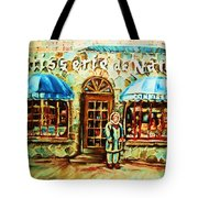 Nancys Fine Pastries Tote Bag