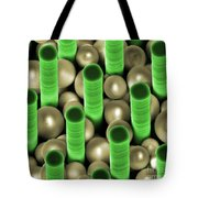 Nanoparticle Trapping, Nanotechnology Tote Bag