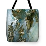 Nansen Conqueror Of The Arctic Ice Tote Bag by James Edwin McConnell